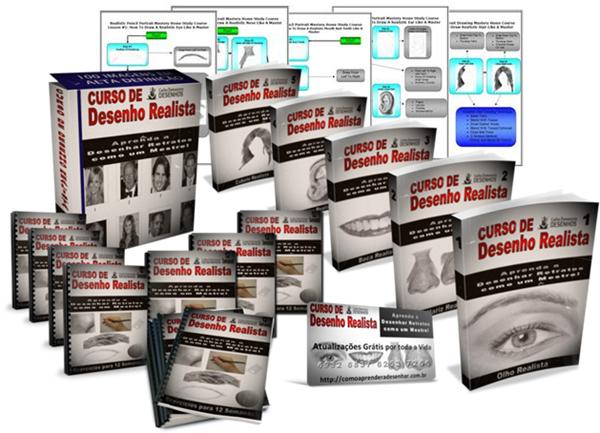 Curso de Desenho Realista de Carlos Damasceno - pdf download
