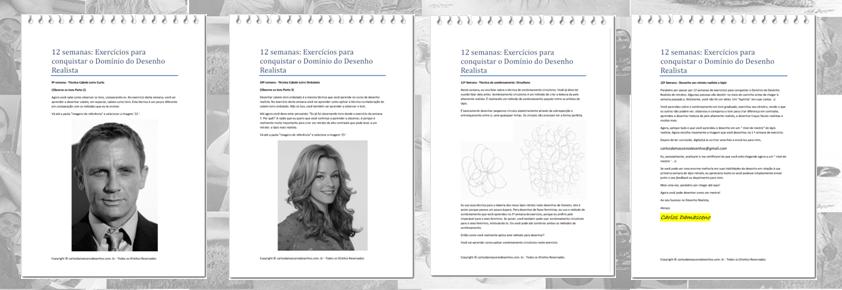 Curso de Desenho Realista de Carlos Damasceno - aulas para aprimorar a técnica pdf nível mestre