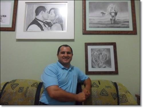 Curso de Desenho Realista de Carlos Damasceno - em casa