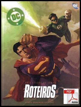CAPA GUIA OFICIAL DC COMICS ROTEIRO